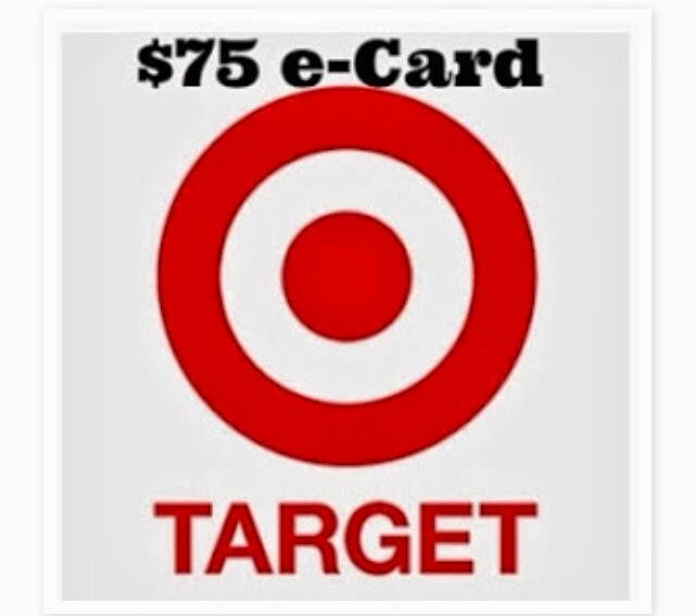 $75 Target e-card Giveaway!
