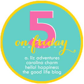 Summer lipstick and Dr. Scholl's: Five on Friday