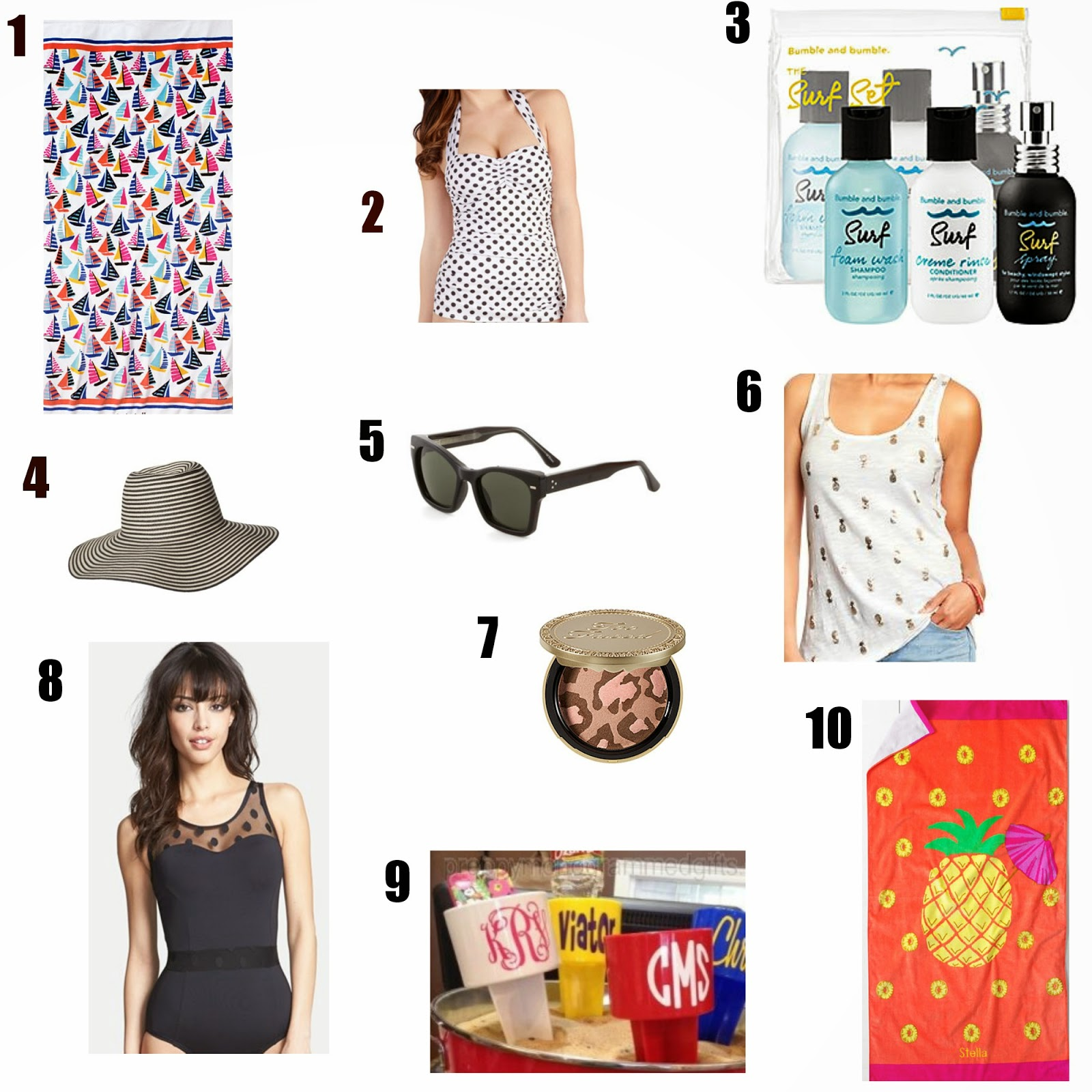 Beach Wish List