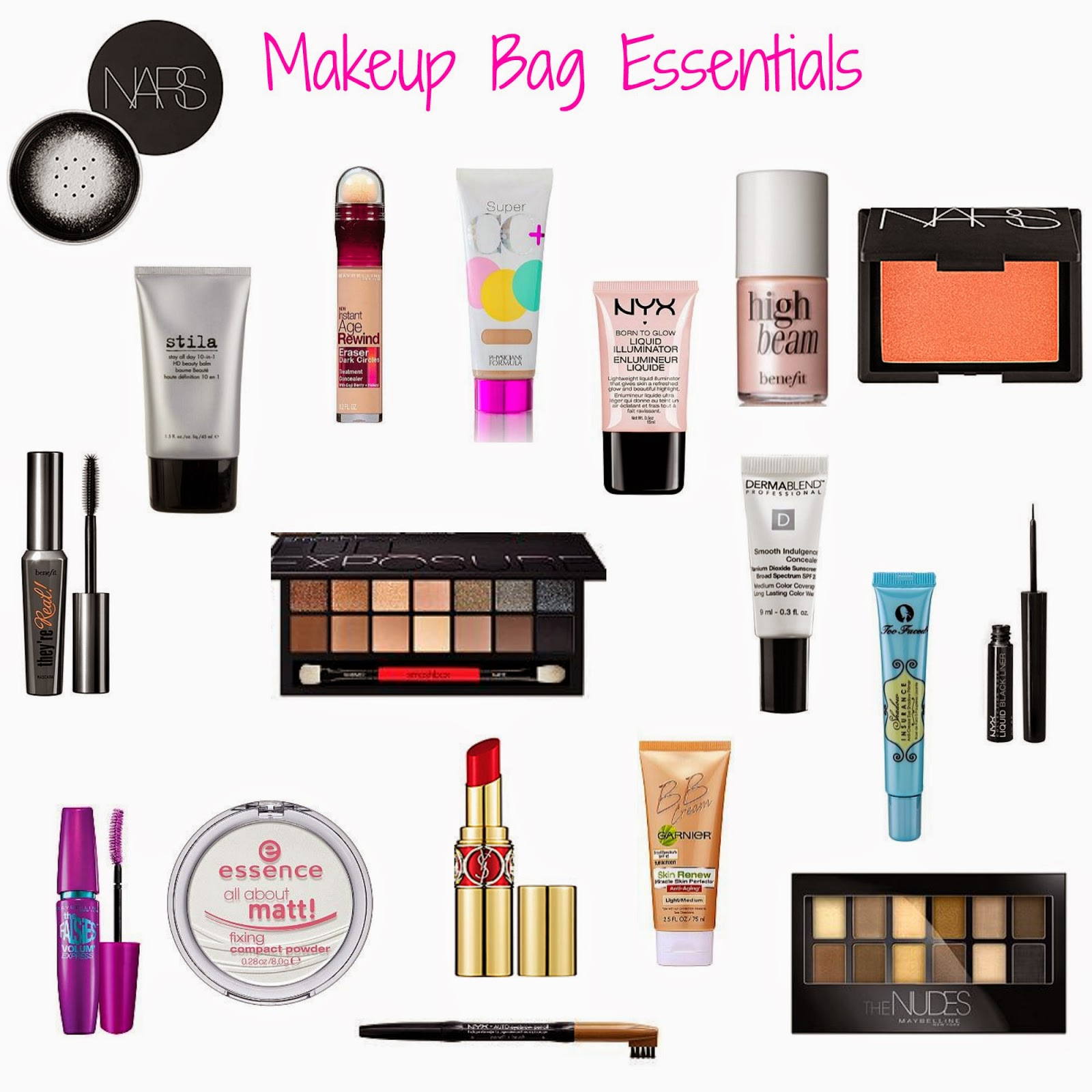 What you need for makeup 82