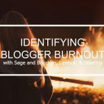 Identifying Blogger Burnout