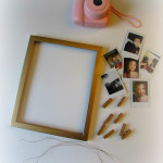 DIY Polaroid Picture Frame from Dream Big & Buy the Shoes