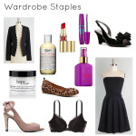 Wardrobe and Beauty Staples