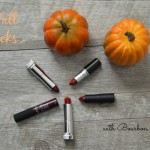 Five Fall Lipsticks