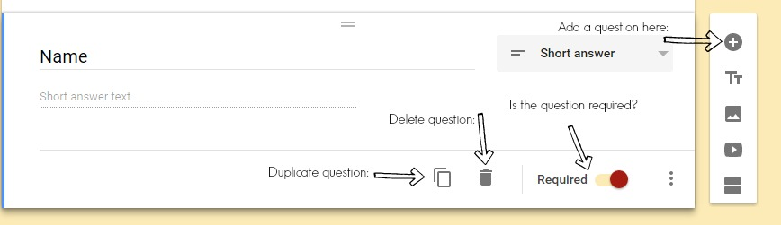 how to create matching questions on google forms