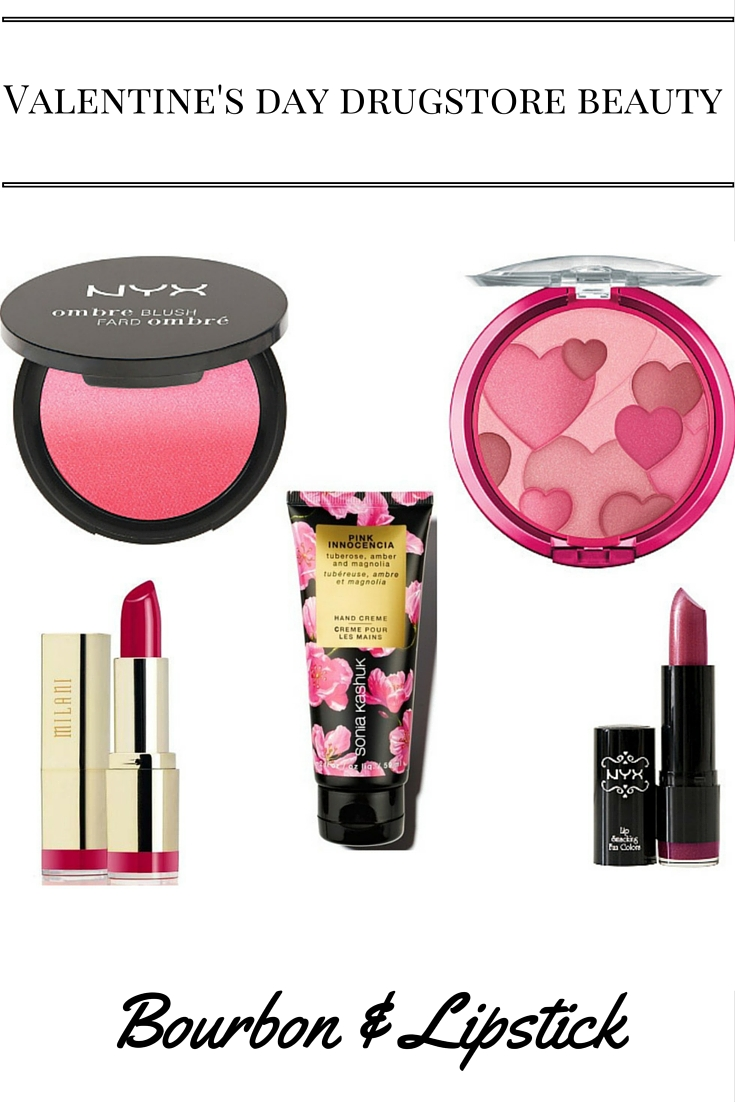 Valentine's day drugstore beauty