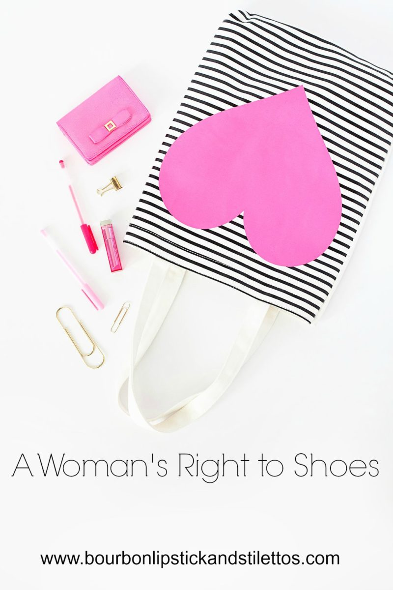 womans right to shoes