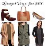 Budget Pieces for Fall