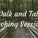 Walking Life Coaching Session