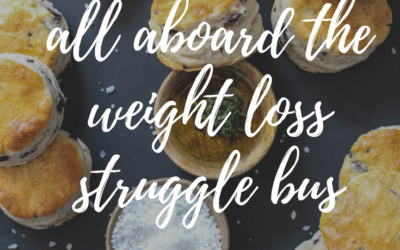All Aboard the Weight Loss Struggle Bus