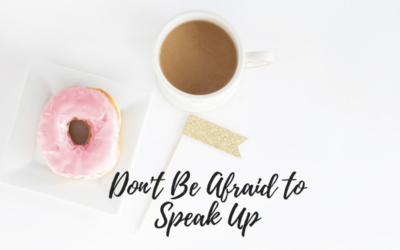 On Speaking Up