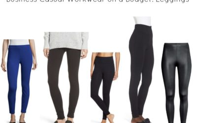Business Casual Workwear on a Budget: Leggings