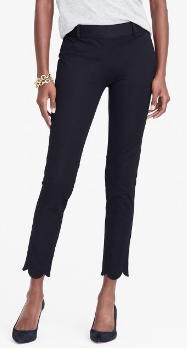 0d7695f221a6d Liz Claiborne Audra Straight Leg Trousers  Another JCPenney find. I used to  exclusively buy my work clothes from JCPenney because it was the only store  in ...
