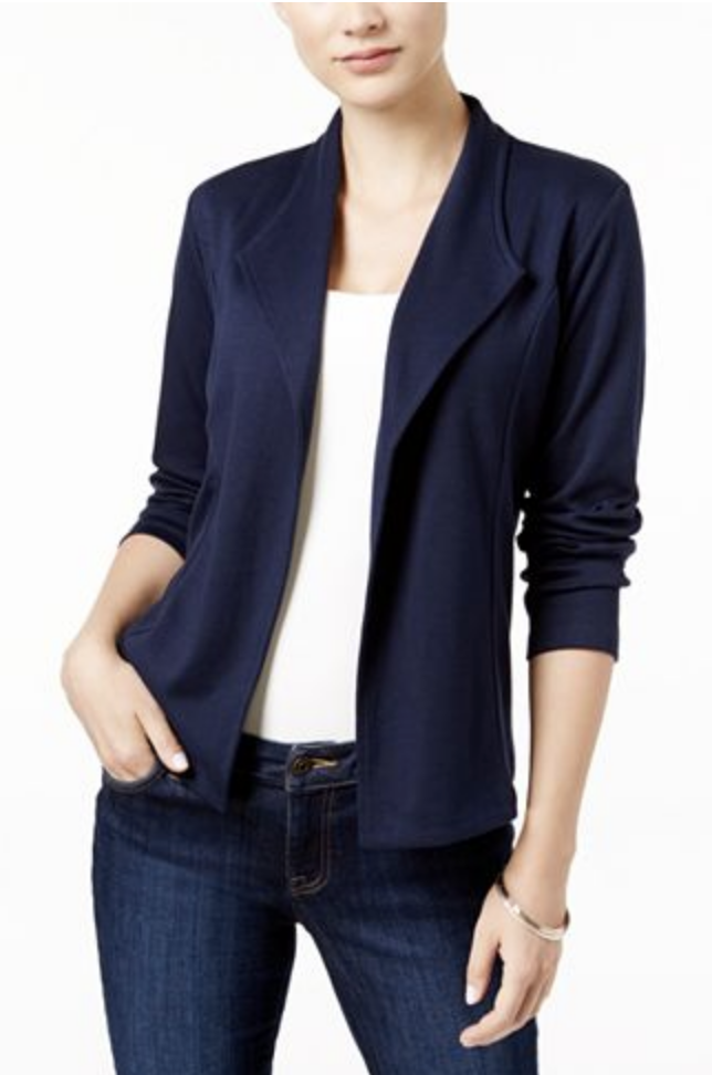 658b3d2316c H M Fitted Blazer  Available in five shades and sizes 2-16. Only  35!