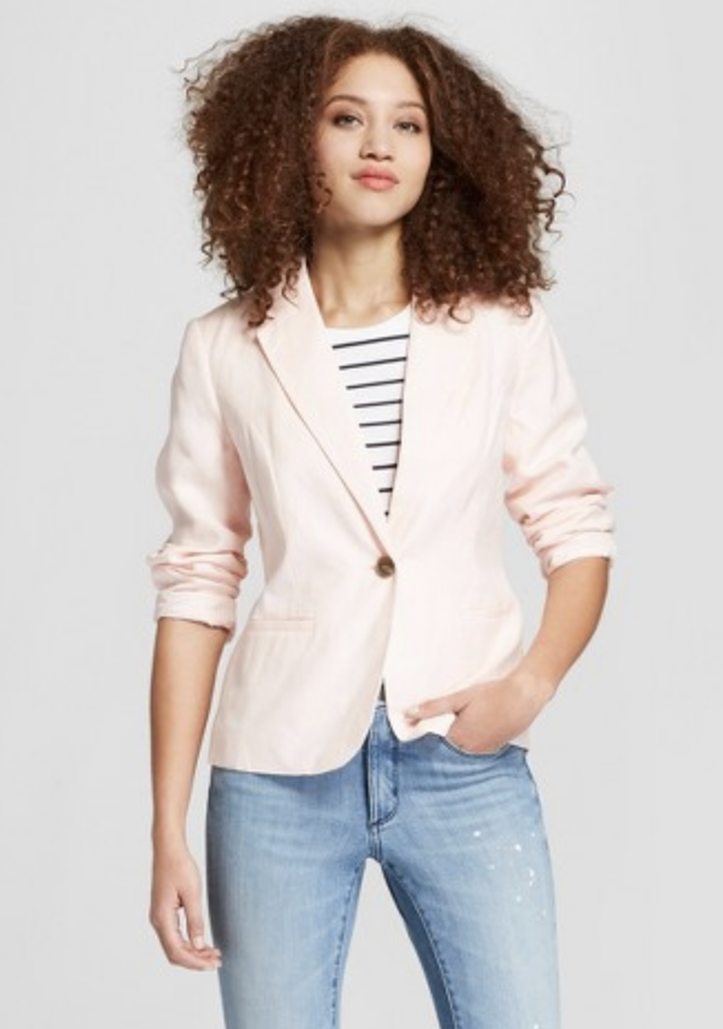 70f71aac33d Old Navy Classic Striped Knit Blazer  I have a few blazers from Old Navy