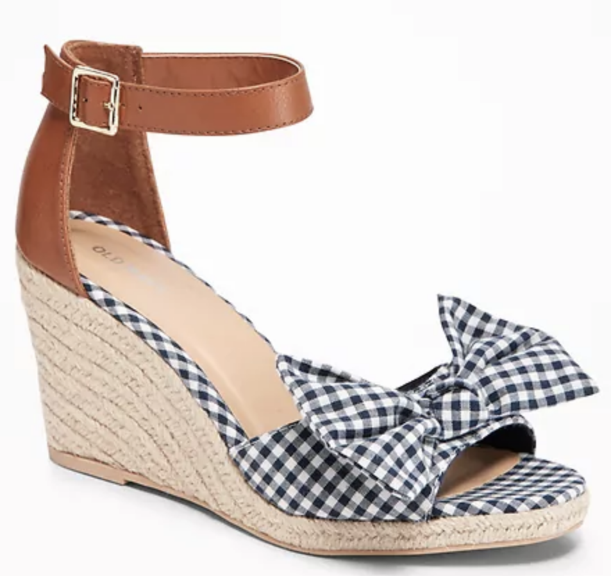 b5ee9d4933 Universal Thread Emery Espadrille Sandals: These Target wedges are supposed  to be equivalent to the popular (and pricey) Marc Fisher sandals, ...
