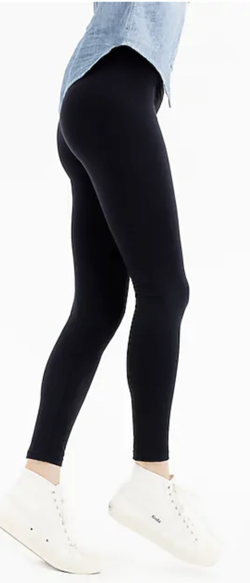 125ef3553240 Old Navy High-Rise Stevie Ponte-Knit Pants: Old Navy calls these pants,  but, they have an elastic waistband and are leggings material.